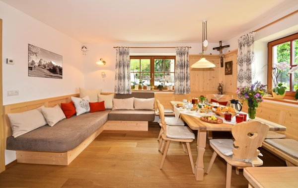 La colazione Gschlunerhof - Appartamenti in agriturismo 3 fiori