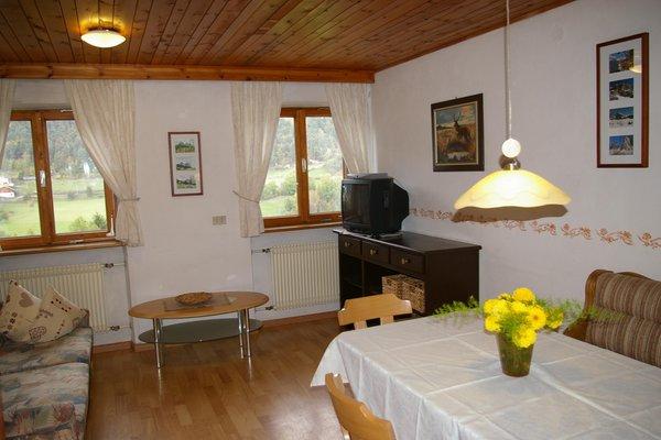 La zona giorno Appartamenti in agriturismo Rundschuhhof