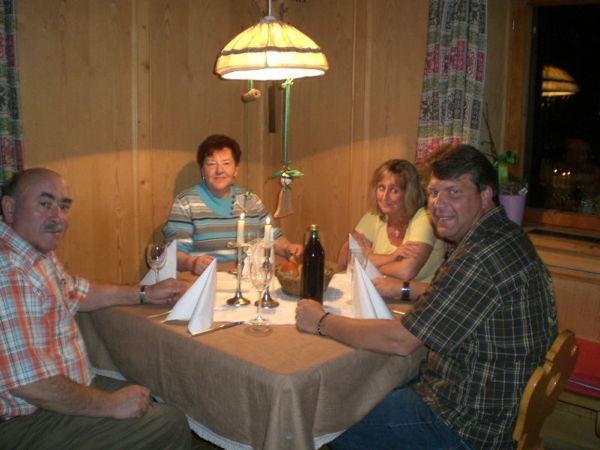La zona giorno Rundschuhhof - Appartamenti in agriturismo 2 fiori