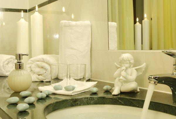 Foto del bagno Hotel Bad Ratzes