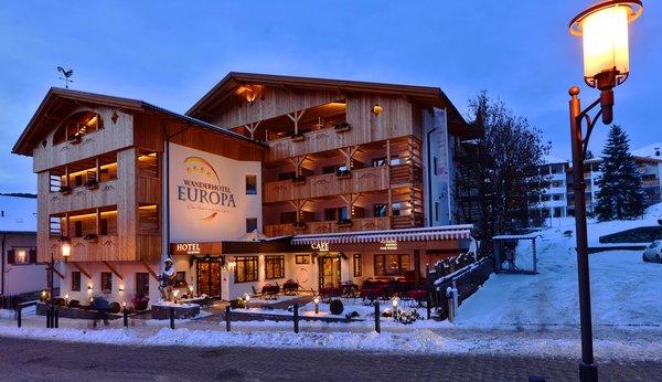 Foto invernale di presentazione Vitalpina Wanderhotel Europa - Hotel 4 stelle