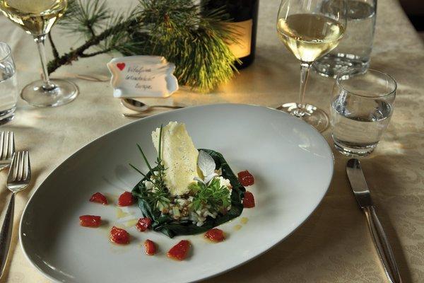 Il ristorante Siusi allo Sciliar Vitalpina Wanderhotel Europa