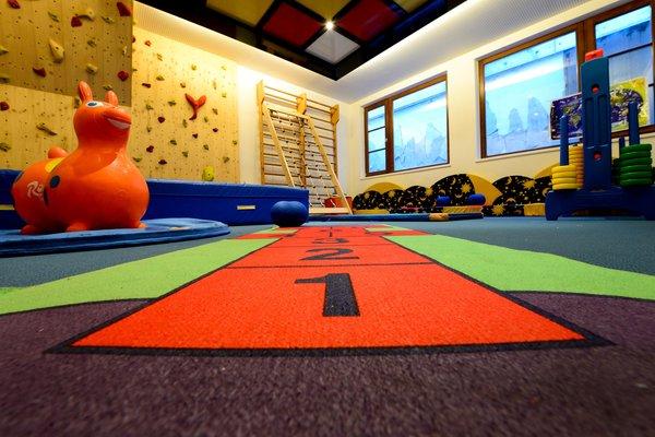 La sala giochi Vitalpina Wanderhotel Europa