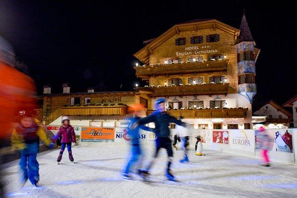 Foto invernale di presentazione Hotel Enzian Genziana - Alpines Beauty & Wellness