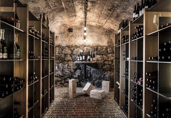 La cantina dei vini Siusi allo Sciliar Waldrast
