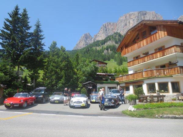 Il parcheggio Albergo Borest