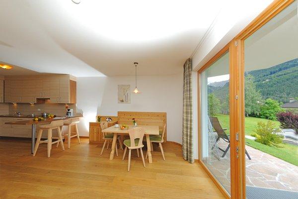 La zona giorno Nussbaumer - Residence 3 stelle sup.