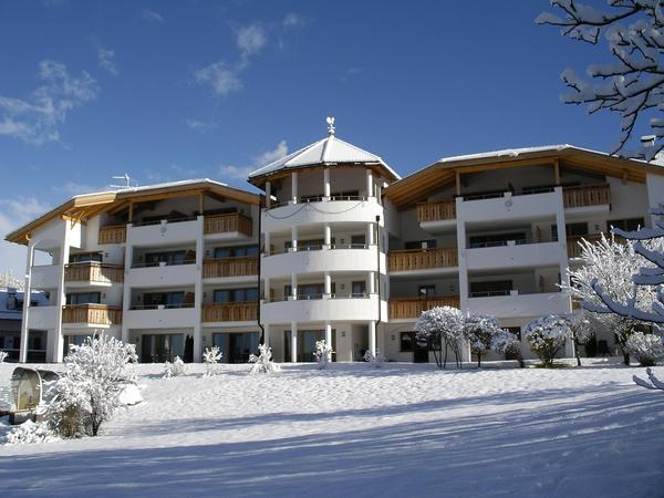Foto invernale di presentazione Residence Nussbaumer