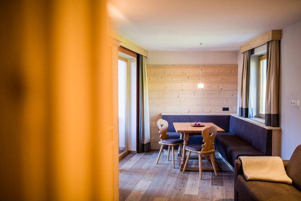 La zona giorno Sonus Alpis - Hotel + Residence 4 stelle