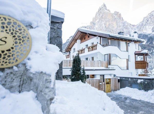 Foto invernale di presentazione Apartments Sella - Appartamenti 5 stelle