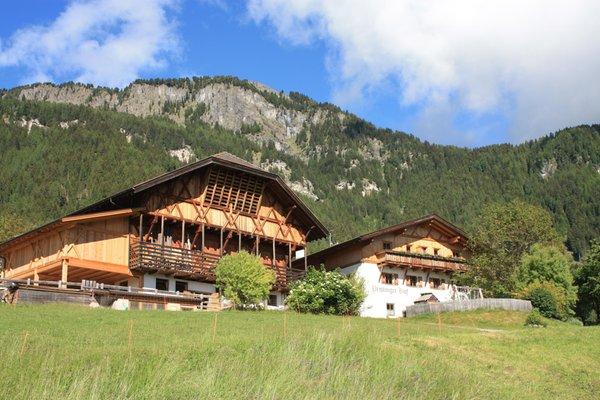 Foto esterno in estate Pristinger Hof