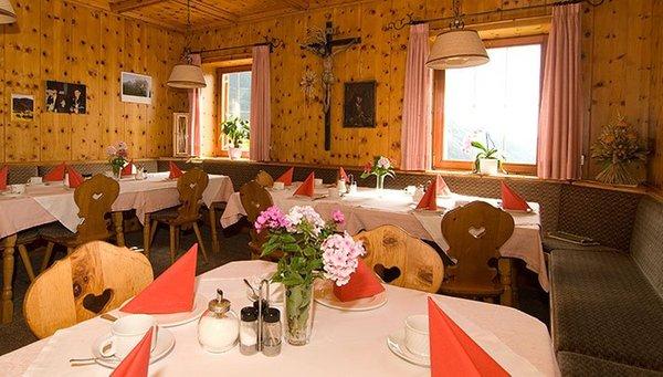 Das Restaurant Seis am Schlern Kamaunhof
