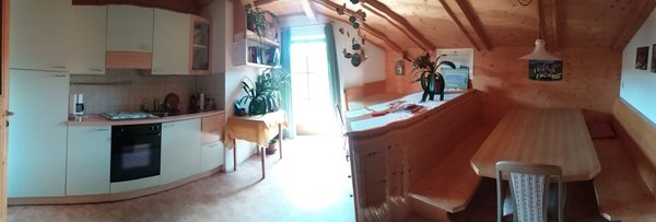 Foto della cucina Verleierhof / Vigiler Heubadl