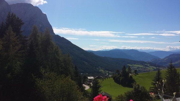 Panoramic view Siusi allo Sciliar / Seis am Schlern