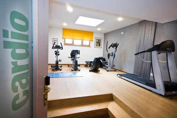 Foto della zona fitness Hotel St. Anton