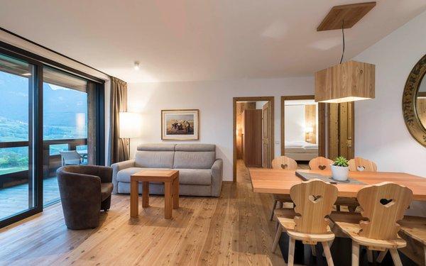 The living area Residence Chalet Simonazzi