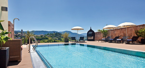 La piscina Wellness & Relax Wolfgang - Residence 3 stelle sup.