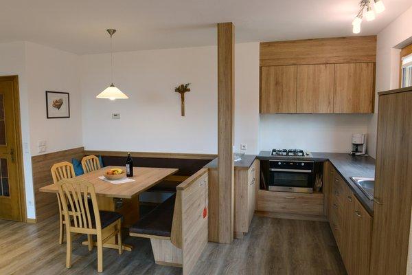 Photo of the kitchen App. Heidi Pigneter