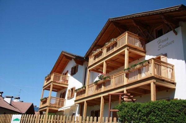 Photo exteriors in summer Haus Santner