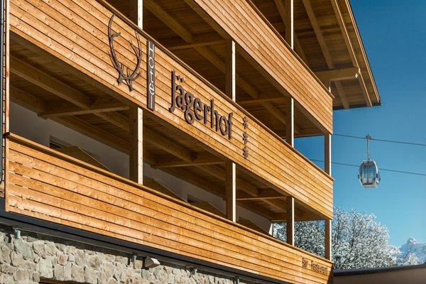 Foto esterno in inverno Jägerhof