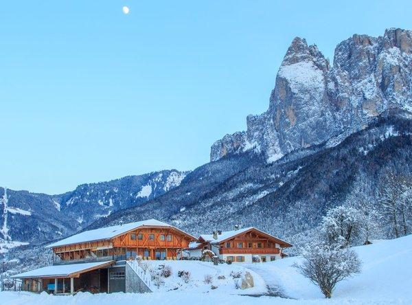 Foto esterno in inverno Dosserhof