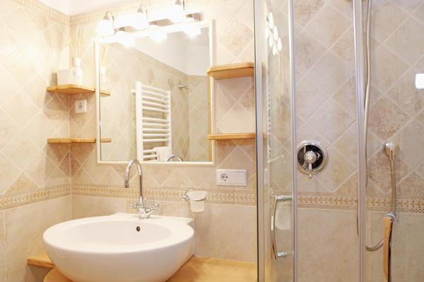 Foto del bagno Appartamenti in agriturismo Pitschlmann