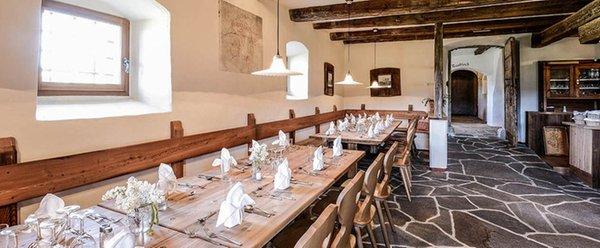 Il ristorante Fiè allo Sciliar Edelansitz Zimmerlehen