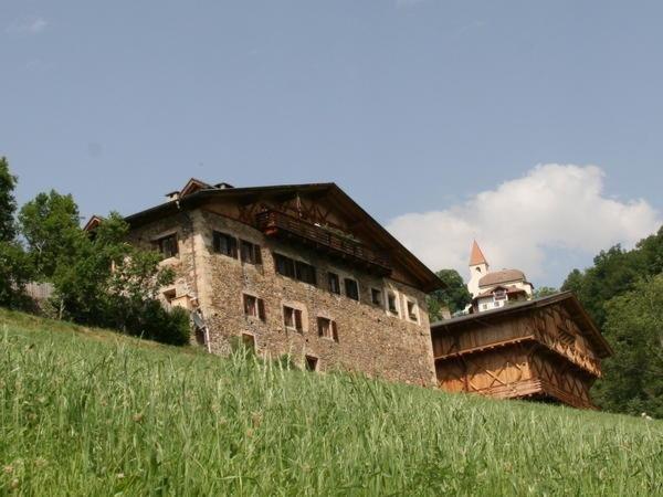 Sommer Präsentationsbild Fronthof - Ferienwohnungen auf dem Bauernhof 2 Blumen