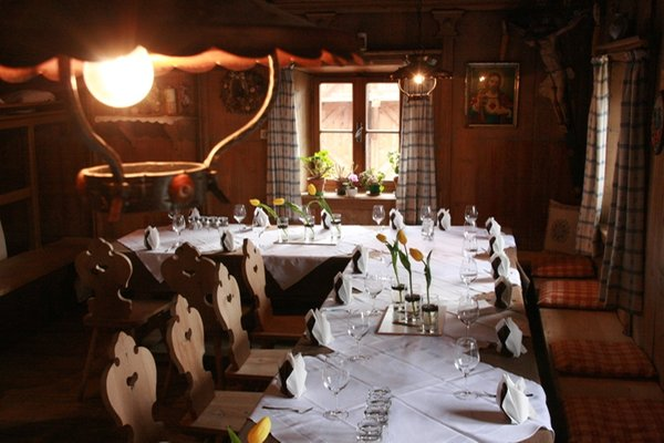Das Restaurant Völs am Schlern Fronthof