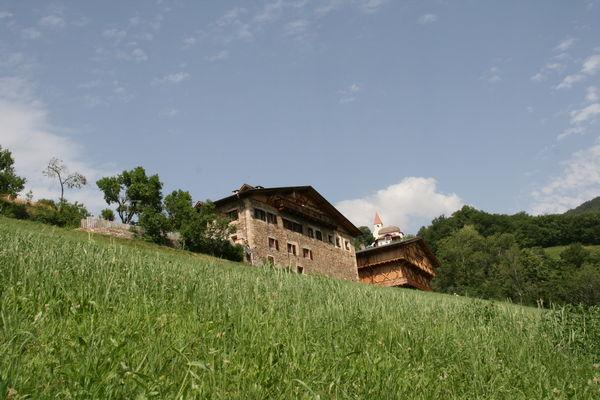 Lage Ferienwohnungen auf dem Bauernhof Fronthof Fiè allo Sciliar