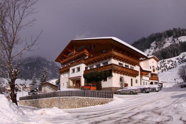 Foto invernale di presentazione Albergo Vittoria