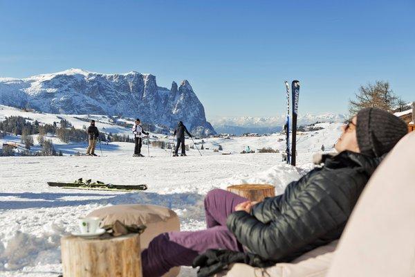 Foto del giardino Alpe di Siusi
