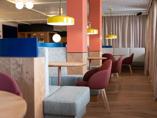 The restaurant Alpe di Siusi / Seiser Alm ICARO Hotel