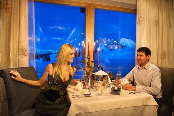 The restaurant Alpe di Siusi / Seiser Alm Santner Alpine Sport & Relax