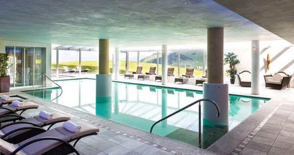 La piscina Hotel Santner Alpine Sport & Relax