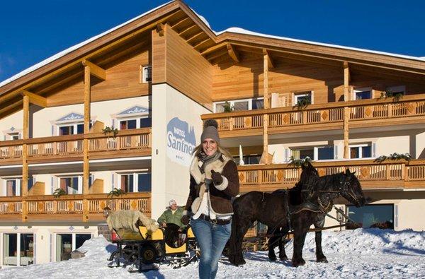 Foto esterno in inverno Santner Alpine Sport & Relax
