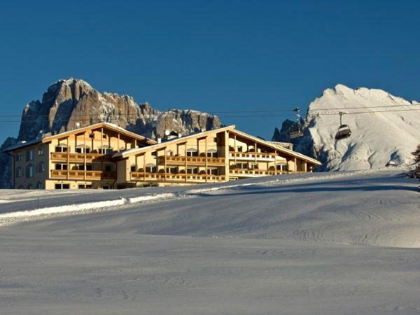 Foto invernale di presentazione Hotel Santner Alpine Sport & Relax