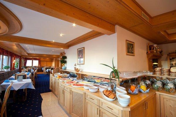 La colazione Hotel Gstatsch