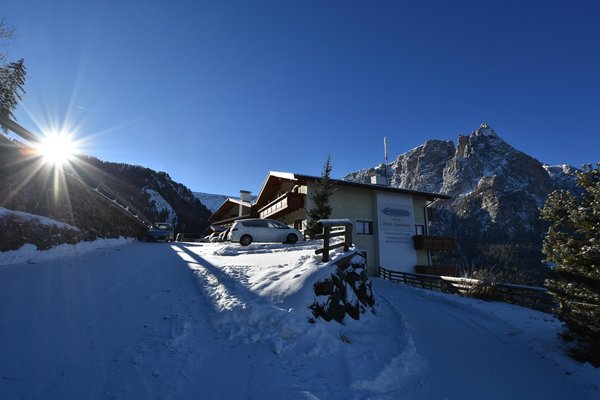 Foto esterno in inverno Gstatsch