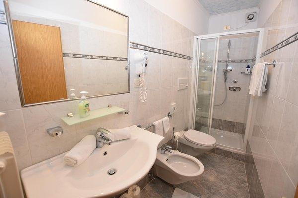 Foto del bagno Hotel Gstatsch