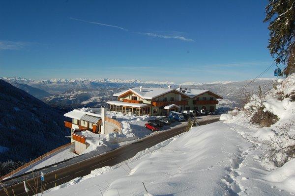 Foto invernale di presentazione Hotel Gstatsch