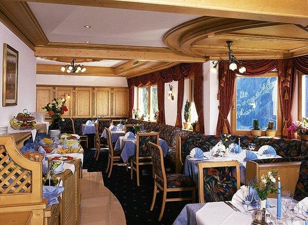 Il ristorante Alpe di Siusi Gstatsch