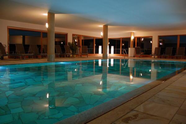 La piscina Hotel Gstatsch