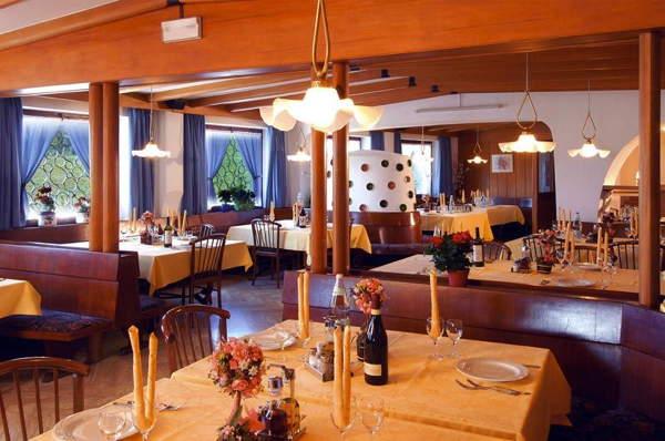 Das Restaurant Seiser Alm Piccolo Hotel Sciliar