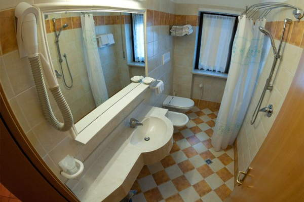 Photo of the bathroom Piccolo Hotel Sciliar