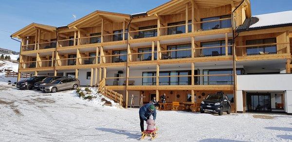 Winter Präsentationsbild Hotel Seelaus