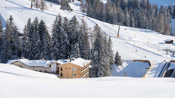 Lage Hotel Seelaus Seiser Alm