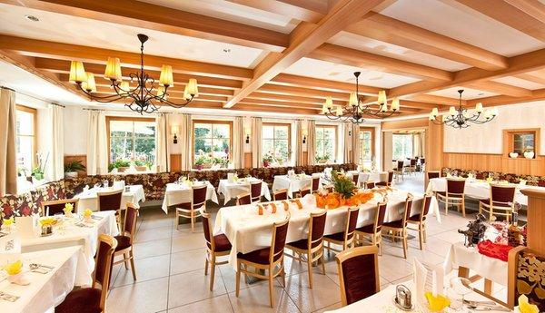 Das Restaurant Seiser Alm Monte Piz