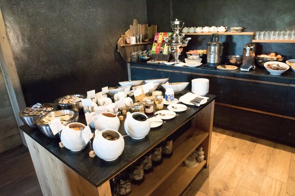 The breakfast Tirler – Dolomites Living Hotel