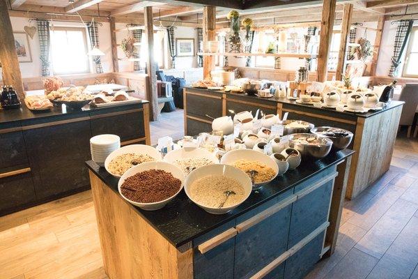 La colazione Tirler – Dolomites Living Hotel - Hotel 4 stelle sup.